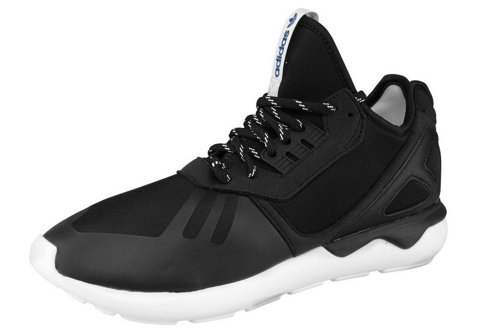 adidas Originals Tubular Runner Sneaker in Schwarz