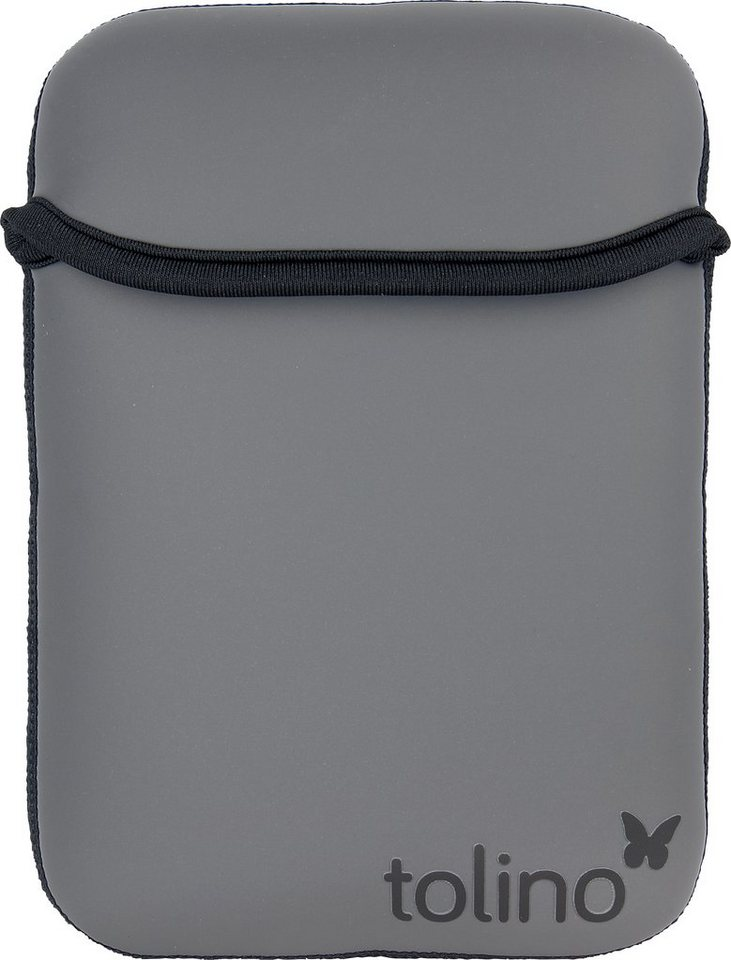 Tolino Tasche aus Neopren passend für den Tolino E-Book-Reader Shine 2 HD & Vision 3 HD in Schwarz