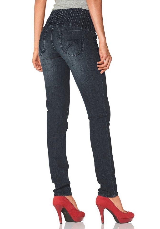 Arizona Skinny-fit-Jeans »Shaping« in dark-blue