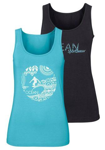 OCEAN SPORTSWEAR Marškinėliai be rankovių