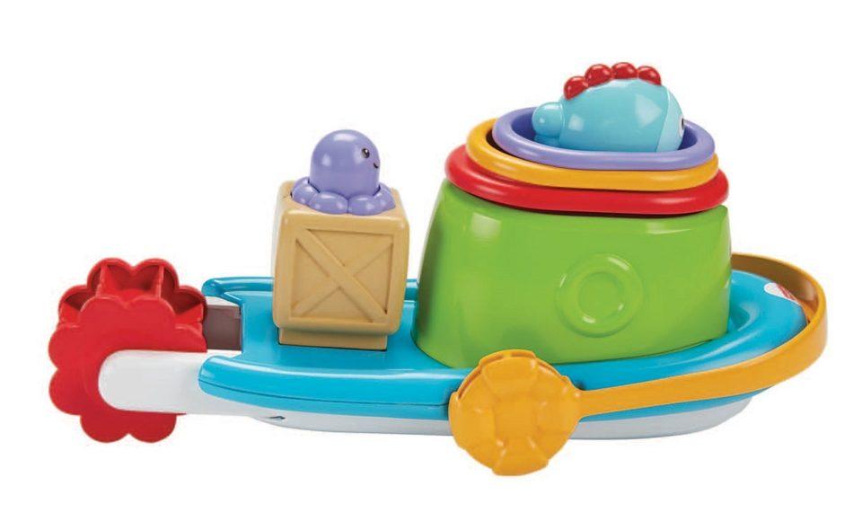 Fisher Price Spielboot, »Stapel-Badeboot«