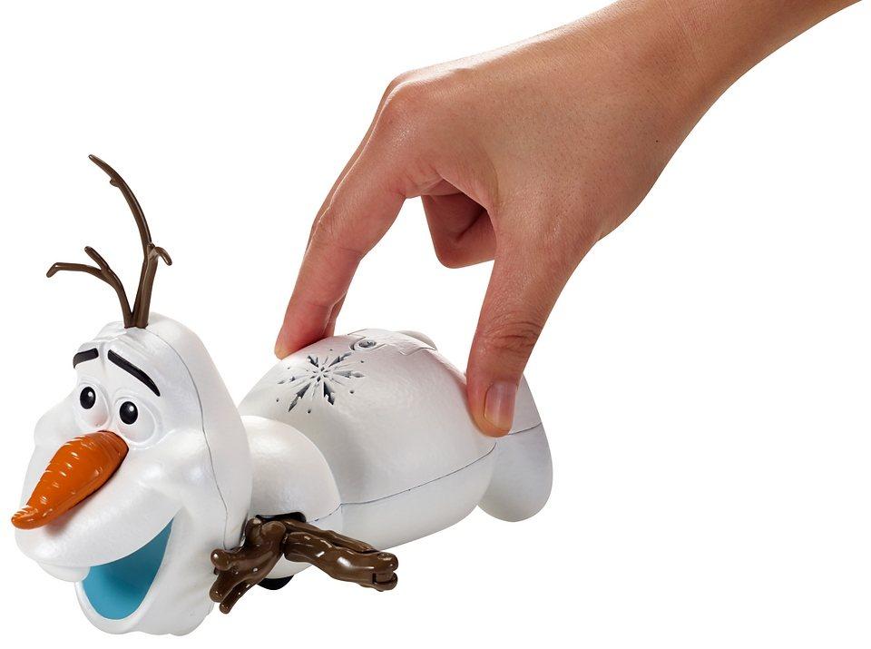 Mattel Spielfigur mit Sound, »Rutsch- und Wackelspaß Olaf«
