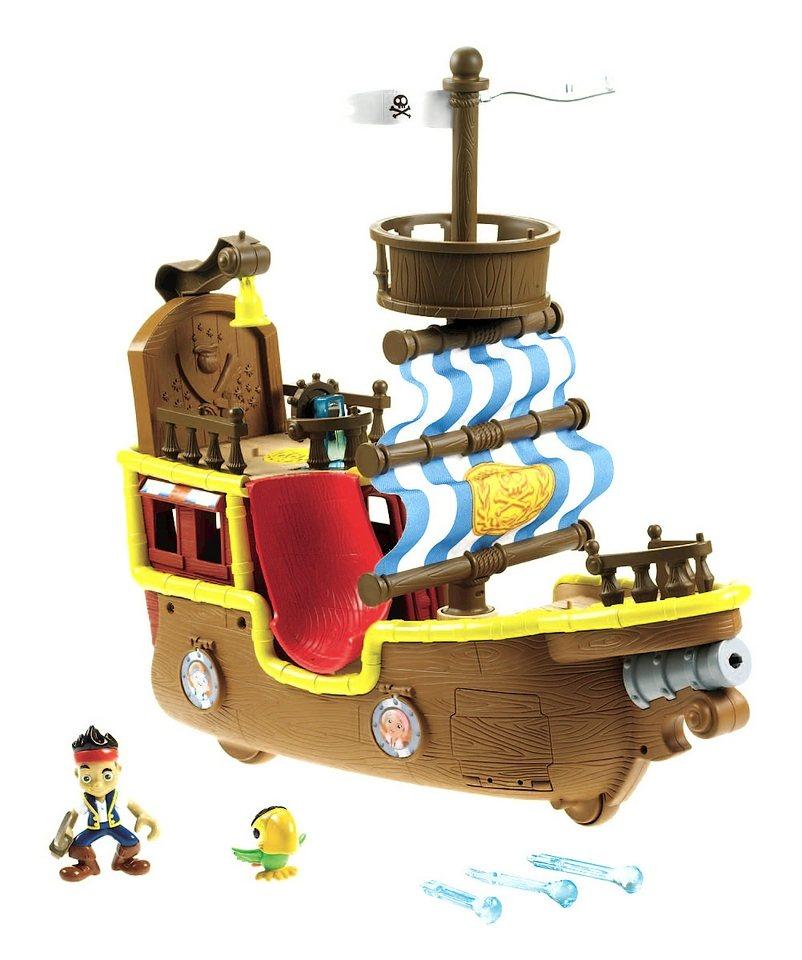 Fisher Price Spielzeugschiff, »Jake und die Nimmerlandspiraten, Piratenschiff Bucky«