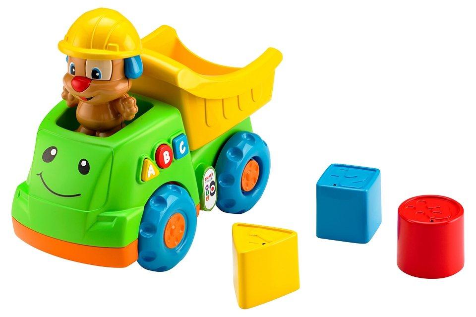 Fisher Price Spielzeugauto, »Lernspaß Hündchens Kipplaster«