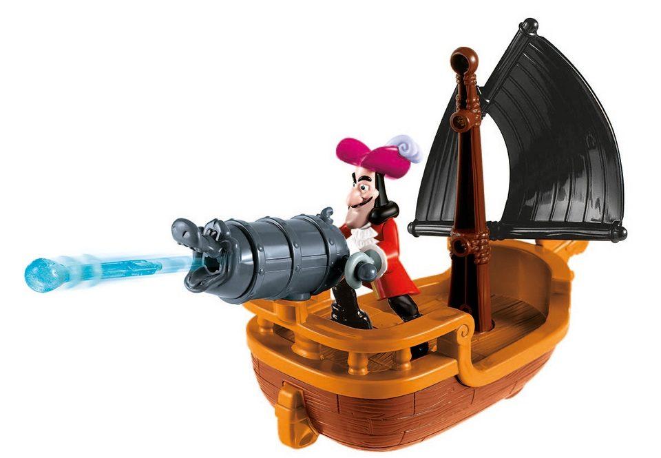 Fisher Price Spielzeugschiff, »Jake und die Nimmerland Piraten - Hooks Kanonenboot«
