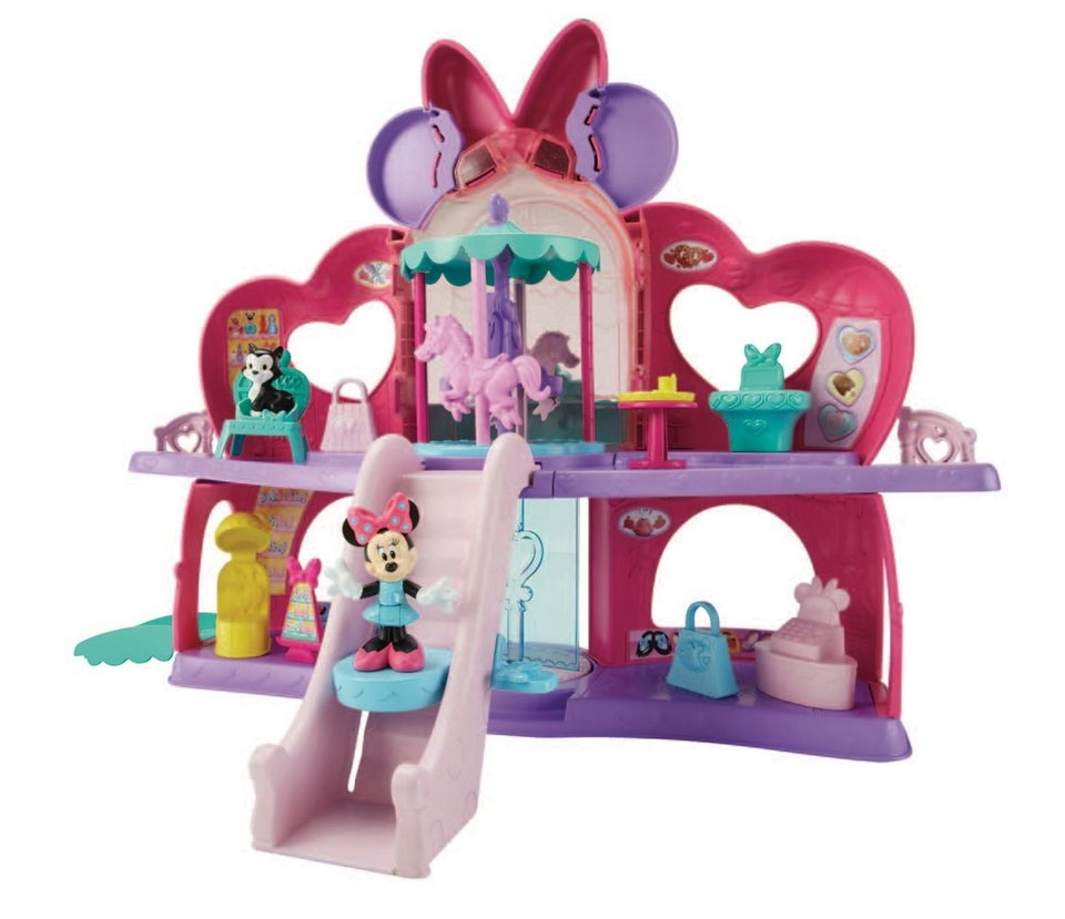 Fisher Price Spielset, »Minnies Spiel-&-Spaß Center« (12tlg.)