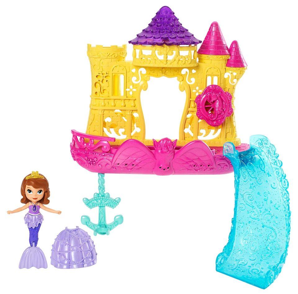 Mattel Spielset, »Prinzessin Sofia & Wasserschloss«