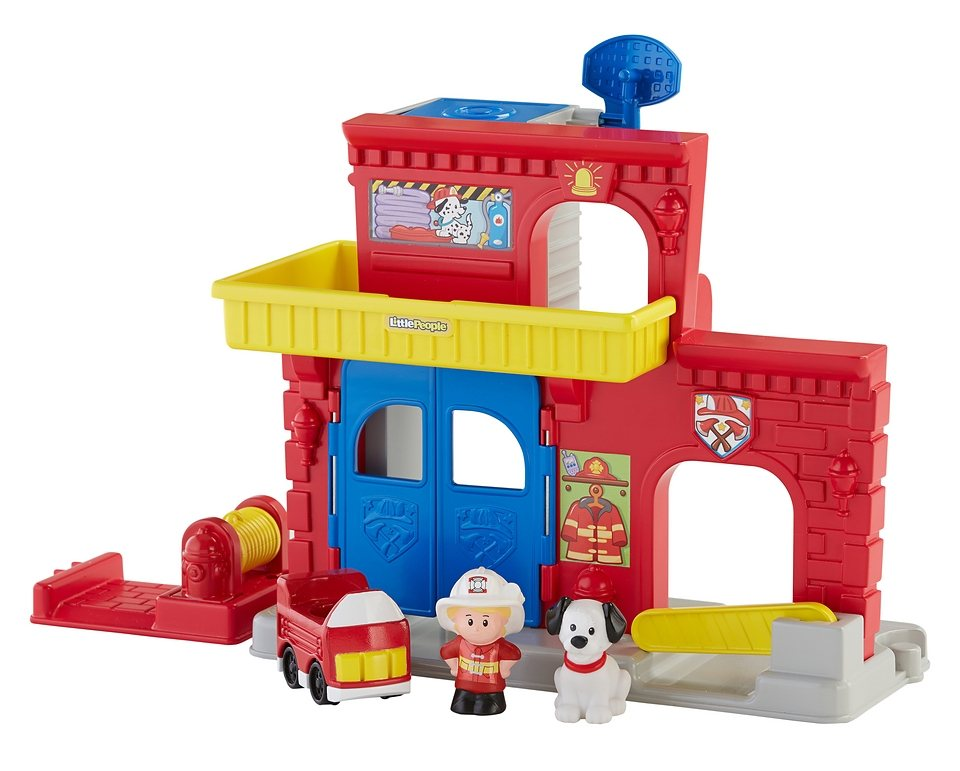 Fisher Price Spielset, »Little People Feuerwehr Station«