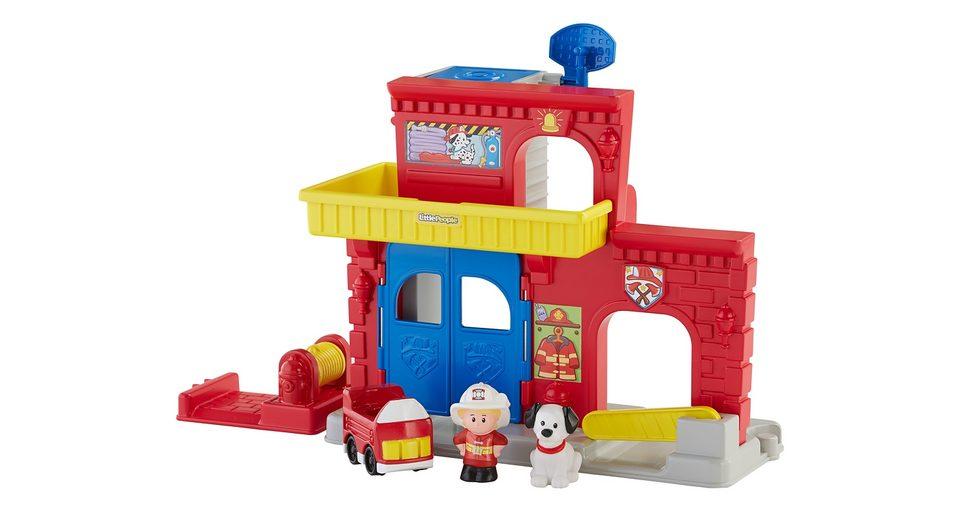Fisher Price Spielset, »Little People Feuerwehr Station«