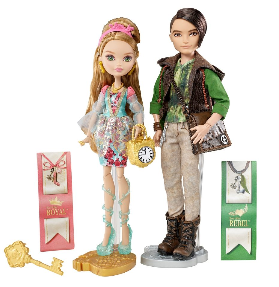 Mattel Puppenset, »Ever After High, Ashlynn Ella + Hunter Huntsman«