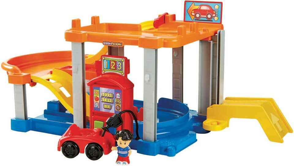 Fisher Price Spielset, »Little People Autocenter«