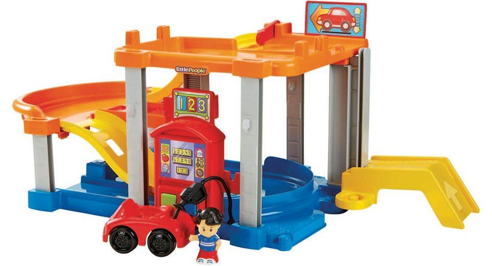 Fisher Price Spielset, »Little People Autocenter«