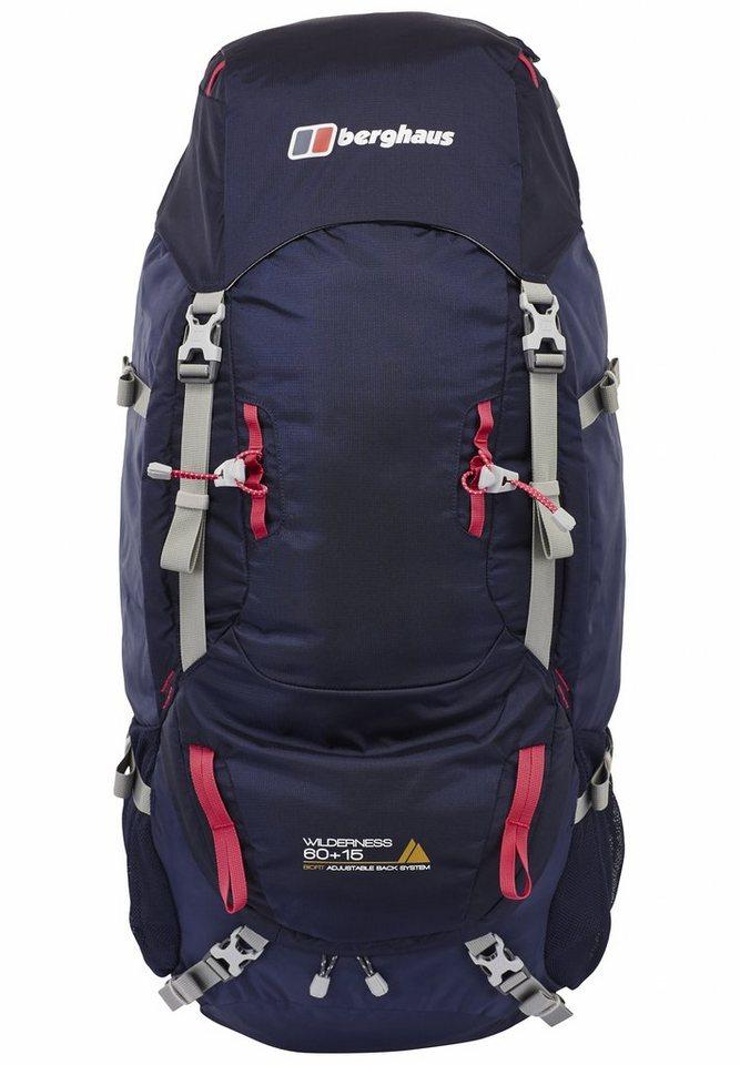 Berghaus Sport- und Freizeittasche »Wilderness 60+15 Backpack Women« in blau