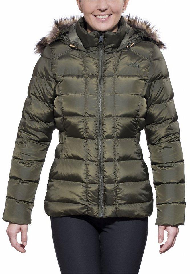 The North Face Outdoorjacke »Gotham Jacket Women« in grün