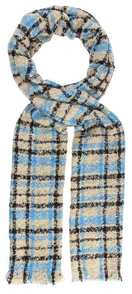 Highlight Company Schal in beige/blau