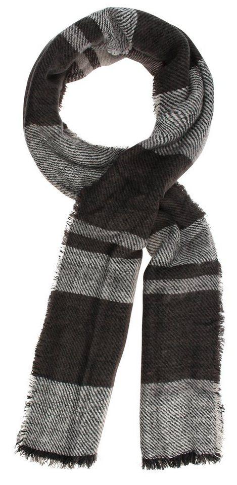 Highlight Company Schal in schwarz/dunkelgrau/s
