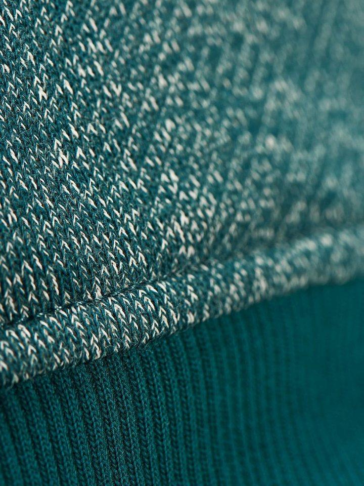Jack & Jones Lässiges Melange- Sweatshirt in Mediterranea