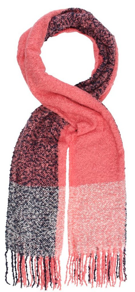 Highlight Company Schal in pink/schwarz