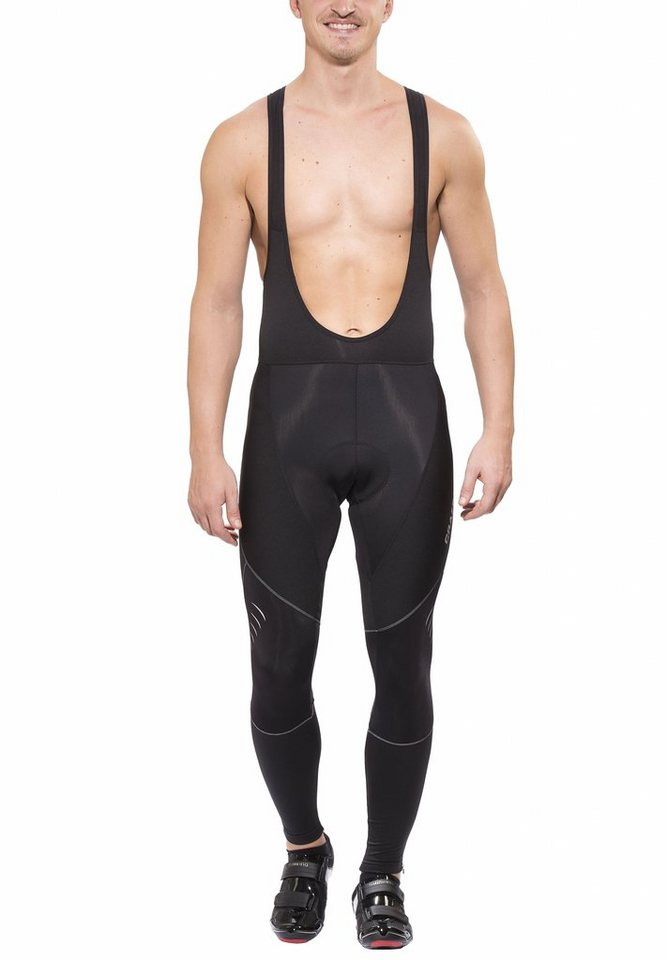 Craft Radhose »Puncheur Thermal Bib Long Tights with Pad Men« in schwarz