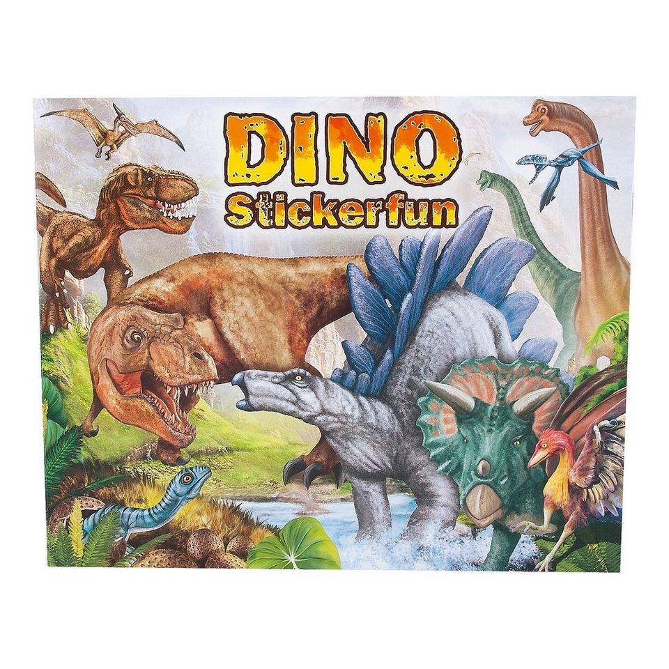 Depesche Malbuch Dino Stickerfun