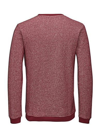 Jack & Jones Lässiges Melange- Sweatshirt