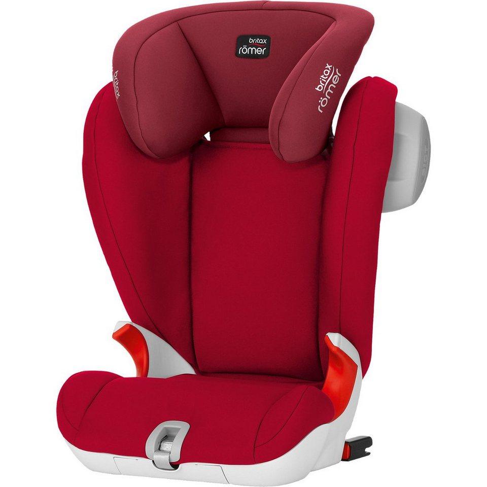 BRITAX RÖMER Auto-Kindersitz Kidfix SL Sict, Flame ROT, 2018 online kaufen