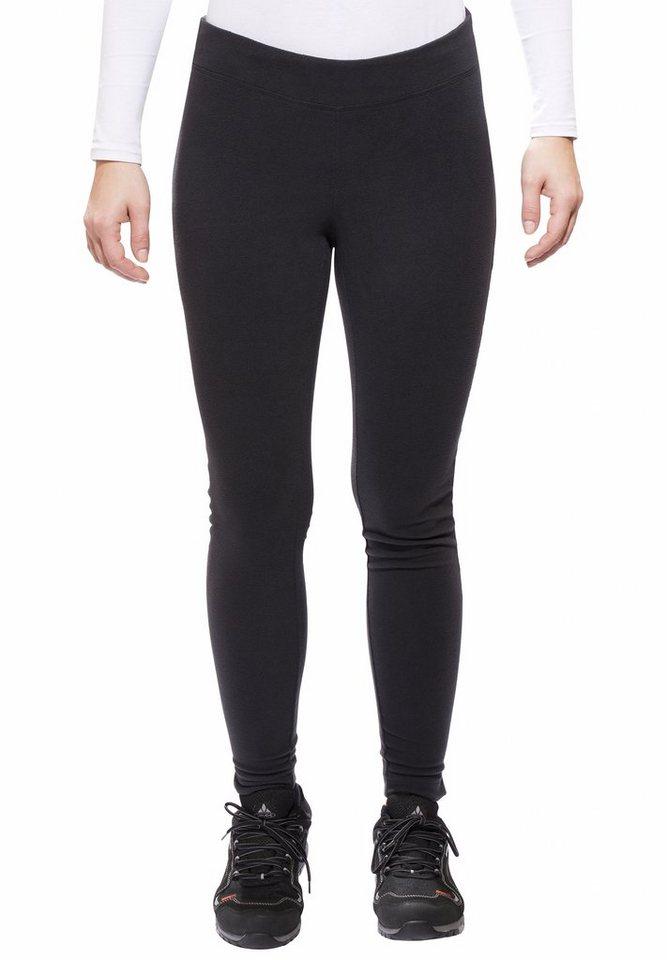 Columbia Outdoorhose »Glacial Legging Regular Women« in schwarz