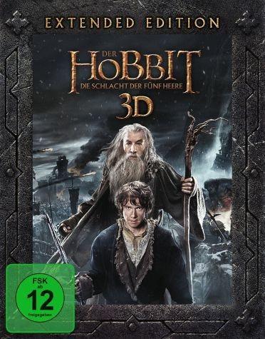 Blu-ray »Der Hobbit: Die Schlacht der fünf Heere...«