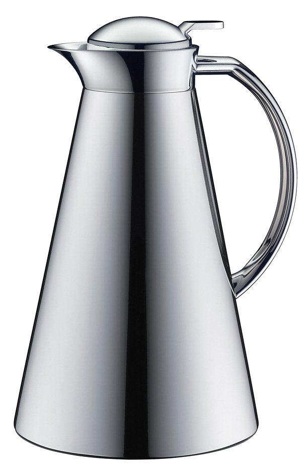 Alfi Isolierkanne Metall/ Chrom, »Fino« in silber