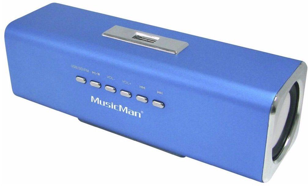 Technaxx Bluetooth-Lautsprecher »MusicMan MA SOUNDSTATION Blau«