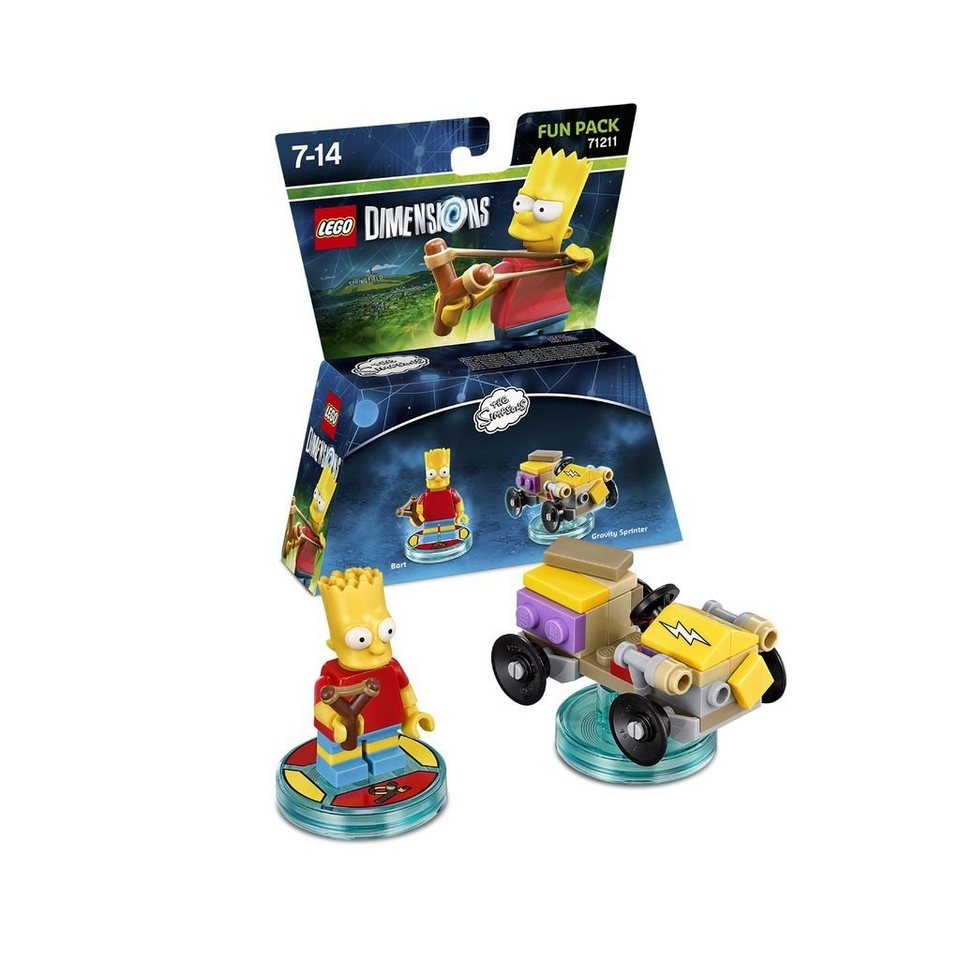 Warner Games Fanartikel »Lego Dimensions Fun Pack Simpsons Bart«