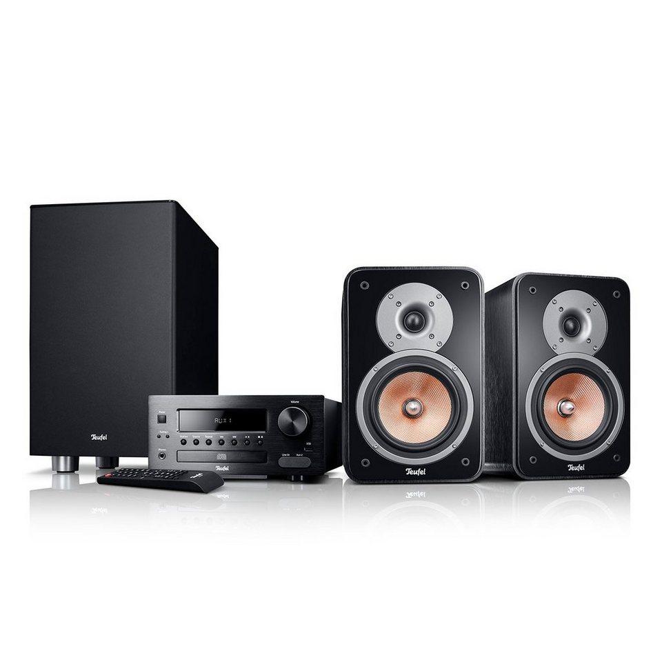 Teufel Stereo Kompaktanlage »Kombo 42 XBE« in Schwarz
