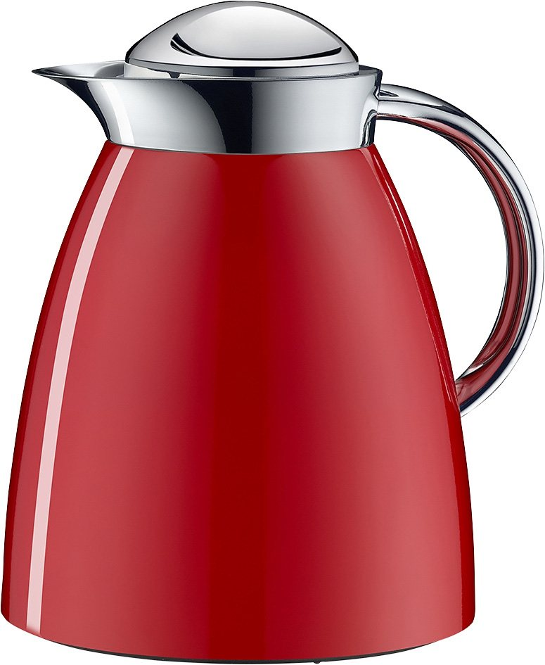 Alfi Isolierkanne, »Gusto Tea Metall« in rot