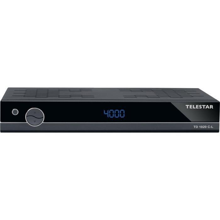 TELESTAR Digitaler Kabelreceiver »TD 1020 C-L« in schwarz