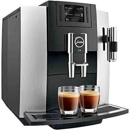 Jura Espresso-/Kaffee-Vollautomat 15084 E8, platin