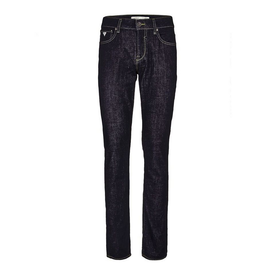 Guess Jeans »Skinny Rinse« in Schwarz