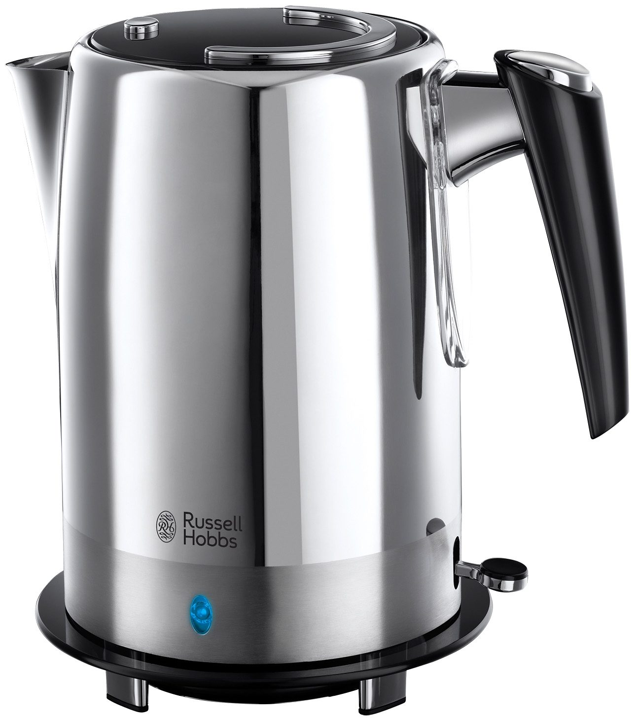 Russell Hobbs Wasserkocher Black Glass 19251-70, 1,7 Liter, 2400 Watt