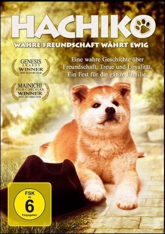 DVD »Hachiko - Wahre Freundschaft währt ewig«