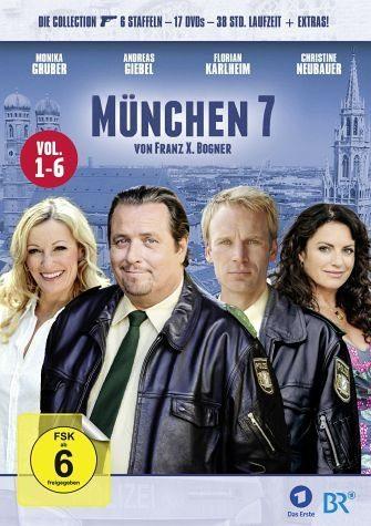 DVD »München 7 - Vol. 1-6 (17 Discs)«