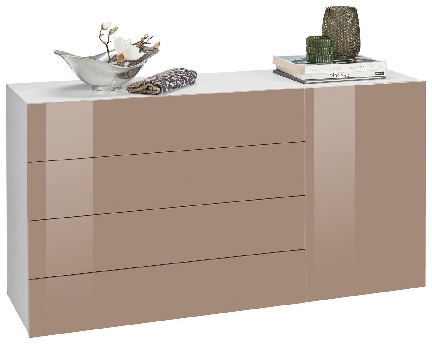 kommode hochglanz weiss otto versand preisvergleiche erfahrungsberichte und kauf bei nextag. Black Bedroom Furniture Sets. Home Design Ideas