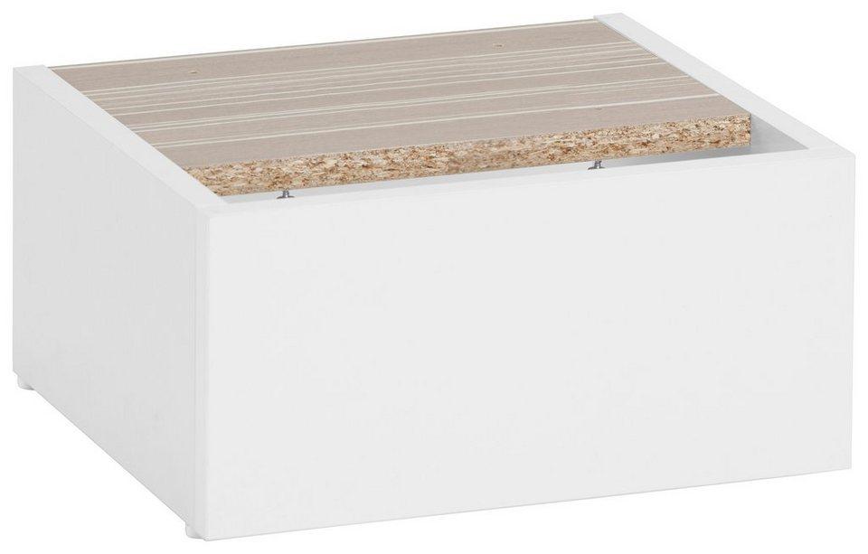 Schildmeyer Sockel-Set »Paco« in weiß-weiß
