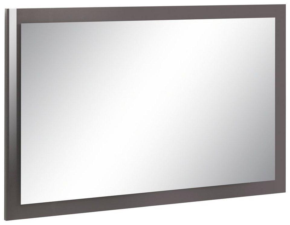 Spiegel »Carina«, Breite 110 cm in anthrazit