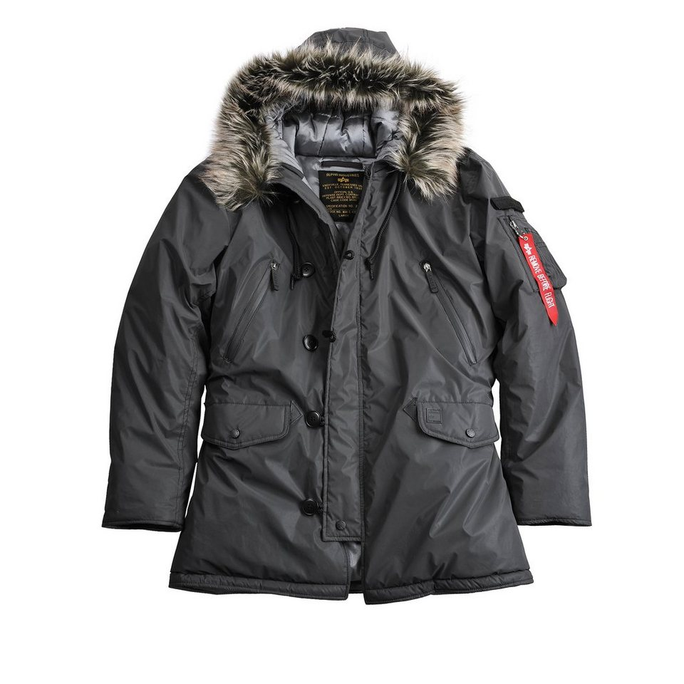 ALPHA INDUSTRIES Jacke »N3B VF Reflective« in black