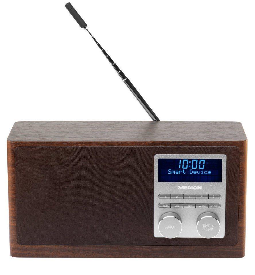 MEDION® DAB+ Radio mit Bluetooth-Funktion »LIFE...