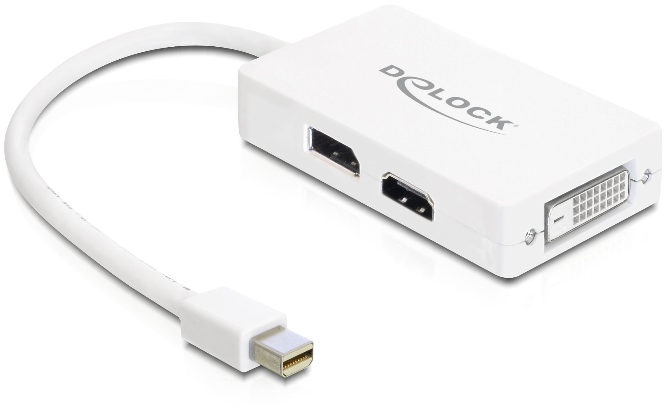 DELOCK Adapter »Mini Displayport 1.1 (61768)«