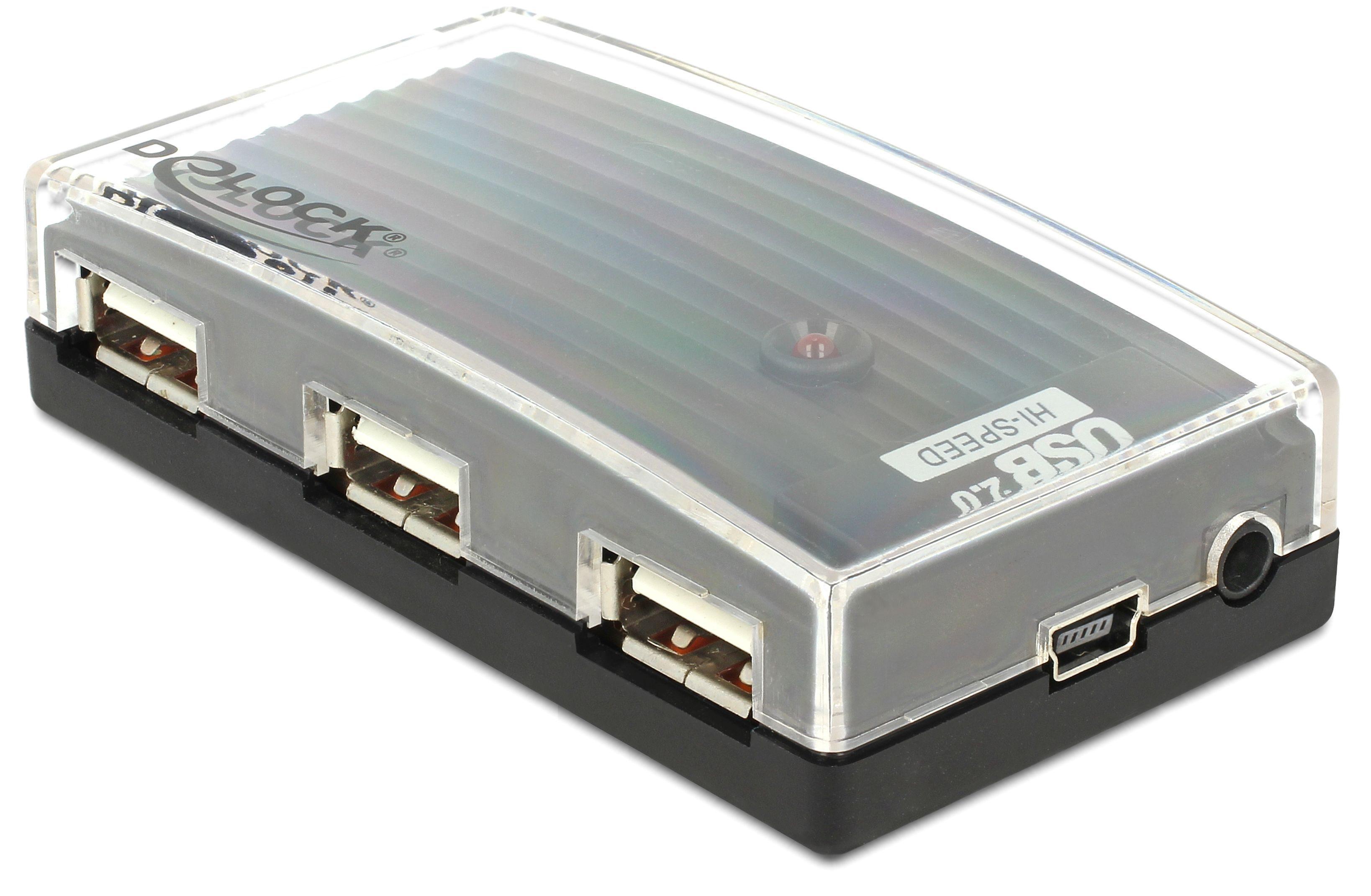DELOCK Externe USB Port »HUB 2.0 4 Port (61393)«