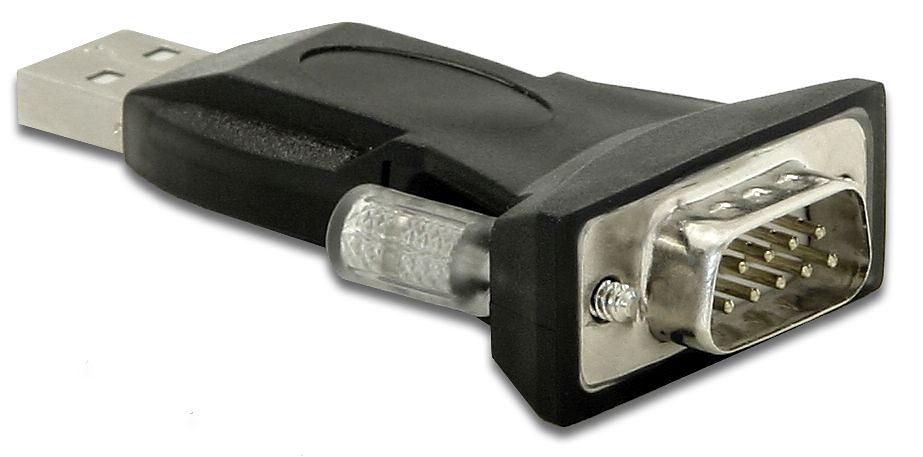 DELOCK Adapter »USB 2.0 Seriell 9St (61425)«