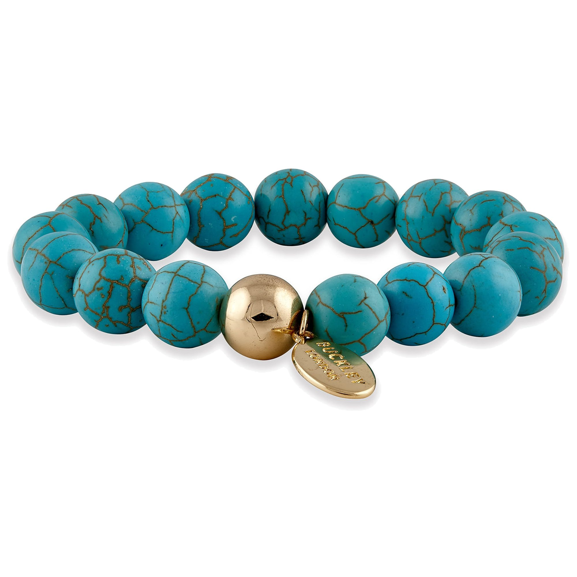 Buckley London Armschmuck »vergoldet mit Turquoise«