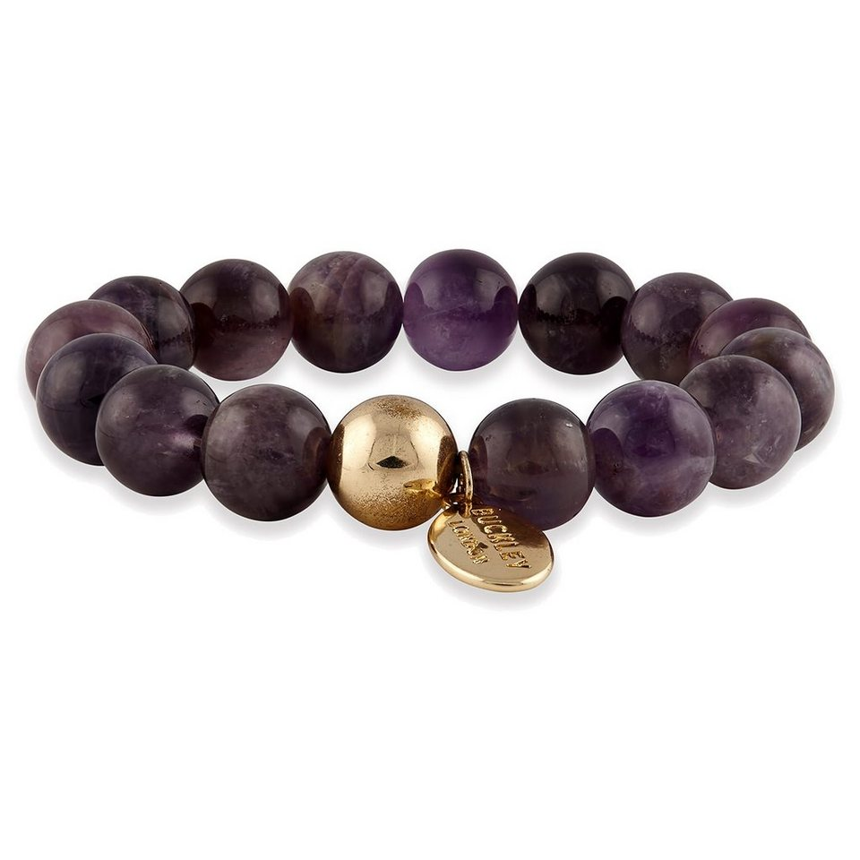 Buckley London Armschmuck »vergoldet mit Amethyst« in lila