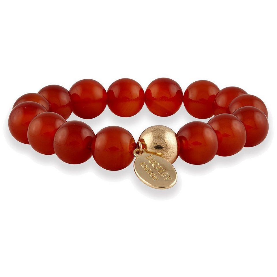 Buckley London Armschmuck »vergoldet mit Carneol« in rot